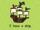 Pirates Shared Reading for Kindergarten- Level A