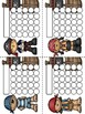 Pirates Sticker Incentive Charts - Full Color and Less-Ink Options