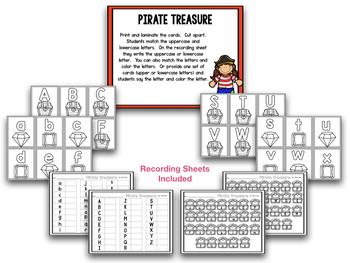 Pirates!  Talk Like A Pirate Day! Math & Literacy Centers