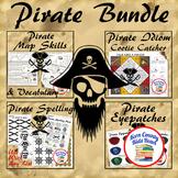 Pirates Thematic Unit Study Bundle: Talk Like A Pirate Pack!