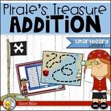 Pirate's Treasure Addition Facts (SMARTboard game)