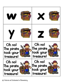Pirate's Treasure Alphabet! Letter and Sound Recognition Game
