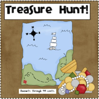 Pirate's Treasure Chest Full of Money
