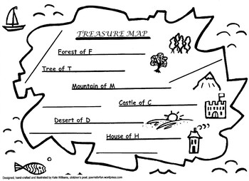 Pirates' Treasure Map