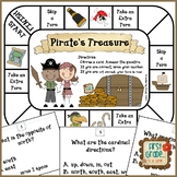 Pirate's Treasure -- Map Skills Game