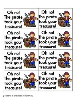 Pirate's Treasure Phonics: L-Blends Pack