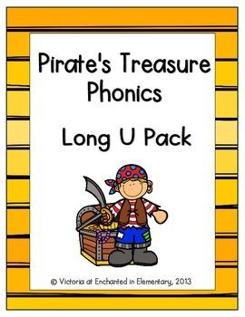 Pirate's Treasure Phonics: Long U Pack