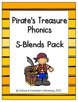 Pirate's Treasure Phonics: S-Blends Pack