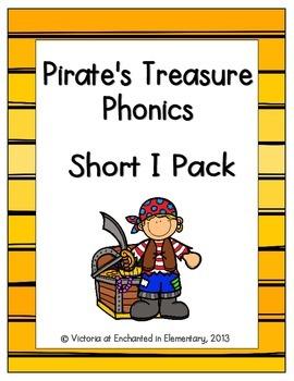 Pirate's Treasure Phonics: Short I Pack
