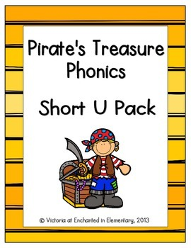 Pirate's Treasure Phonics: Short U Pack