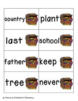 Pirate's Treasure Sight Words! Fry List 3