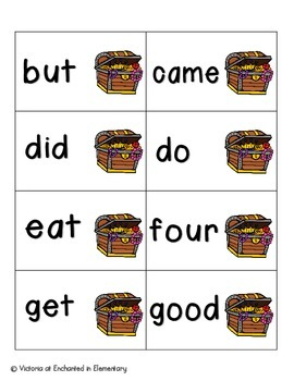 Pirate's Treasure Sight Words! Primer List Pack