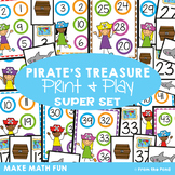 Pirate Number Games