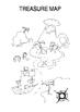 Pirate's Treasure map