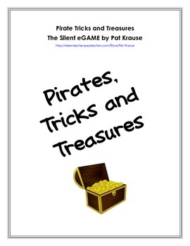 Pirates, Tricks and Treasures - Silent e Game
