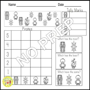 Pirates Worksheets Activities Games Printables and More