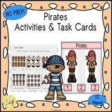 Pirates Activities and Task Cards