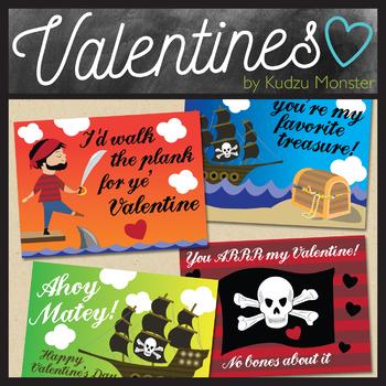Pirates Valentine