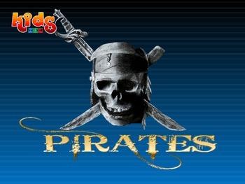 Pirates Vocabulary Presentation and game