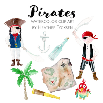 Pirate Clipart Pirate Clip Art Pirate Printables Pirate Stickers Pirate Party