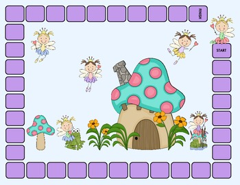 Pirates and Fairies /sh, ch, j/ Edition- An Articulation Game for sh, ch, and j