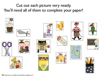Pirates and Firsties Picture Sort