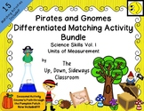 Pirates and Gnomes Differentiated Matching Activity Bundle