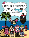 Pirates and Mermaids Math! Cut&Paste Printables for Kindergarten