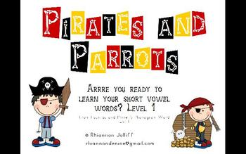 Pirates and Parrots Phonograms Level 1