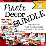 Decor BUNDLE - Pirate Themed