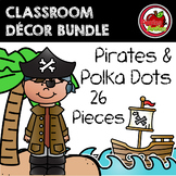 Pirates and Polka Dots Decor: BUNDLE