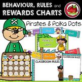 Pirates and Polka Dots Decor: Behaviour, Rules and Rewards Chart