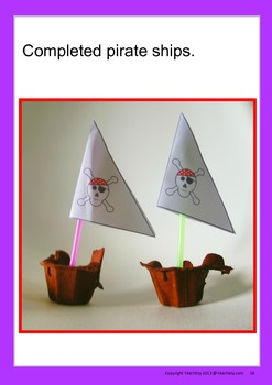 Pirates and Princess Preschool and Kindergarten Unit of Work
