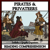 Pirates and Privateers:  Reading Comprehension