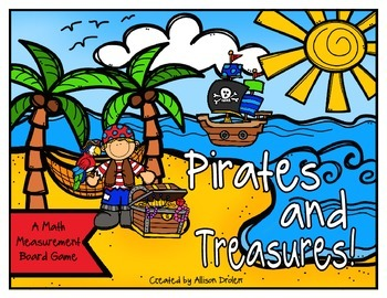 Pirates and Treaures! {A Math Measurement Game}