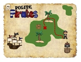 Pirates are Polite?!- Teaching manners with silly pirates!