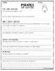 Pirates by Gail Gibbons QAR Comprehension Questions with QAR Poster