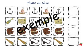 Pirates en séries / Pirates series