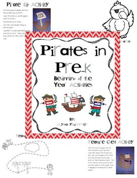 Pirates in Pre-K
