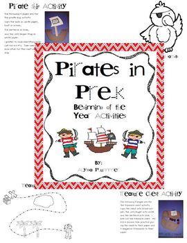 Pirates in Pre-K