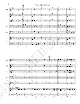 Pirates of the Black Sea - A Song in B Minor for Beginning Orchestra