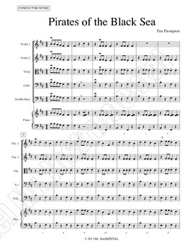 Pirates of the Black Sea - A Song in B Minor for Beginning