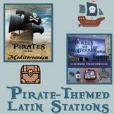 Pirates of the Mediterranean Latin Classroom Transformation Stations