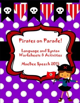 Pirates on Parade! Building compound sentences, conjunctions and prepositions