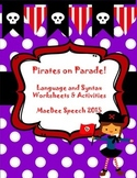Pirates on Parade! Building compound sentences, conjunctio