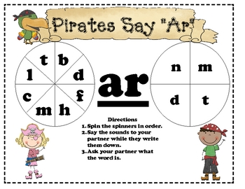 """Pirates say """"Ar"""" - Word Spinners"""