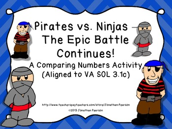 Pirates vs. Ninjas - A Comparing Numbers Game