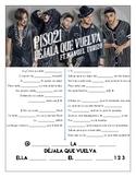 Piso 21 & Manuel Turizo - 'Déjala que Vuelva' Cloze Song S