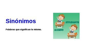 Pistas/Claves del contexto- Spanish Context Clues Presentation