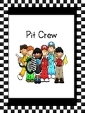 Pit Crew Kids Center Sign
